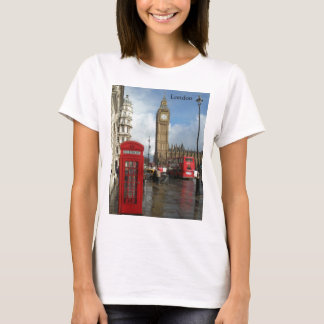London-Telefonkasten u. Big Ben (St.K) T-Shirt