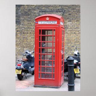 London-Telefonzelle Poster