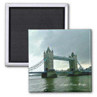 London-Turm-Brücke Quadratischer Magnet
