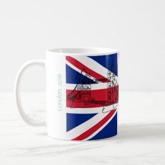London-Turm-Brücken-Gewerkschafts-Jack-Flagge Kaffeetasse