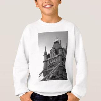 London-Turm-Brücken-Nahaufnahme Sweatshirt