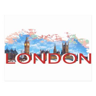 London Vintag Postkarten