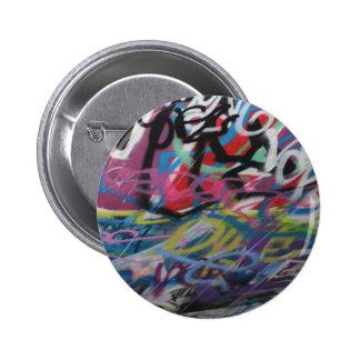 Londongraffiti-Abzeichen Runder Button 5,1 Cm
