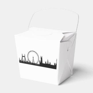 Londonmitnehmerbevorzugungs-Kasten/Takeout Geschenkschachtel