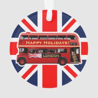 Londons berühmter roter Bus Ornament