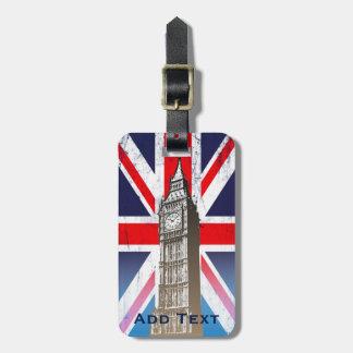 Londons Big Ben Gepäckanhänger