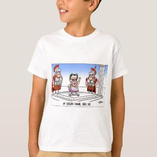 Londons setzt Zeit Cartoon-T-Shirts fest T-Shirt