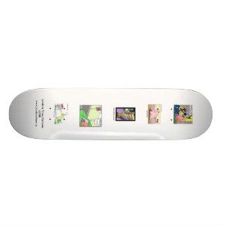 Londons setzt Zeit Cartoons auf QualitätSkateboard Skateboarddecks