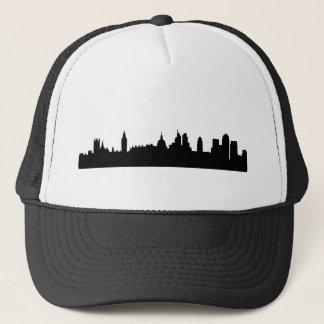 Londonskyline-Silhouette Cityscape Truckerkappe
