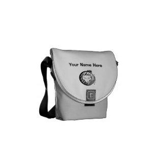 Lonewolf Minibote-Taschen-äußerer Druck Kuriertasche