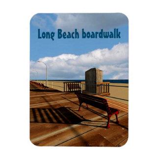 Long Beach boardwalk Magnet