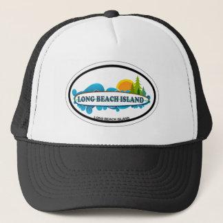 Long Beach Insel Truckerkappe
