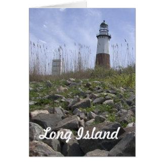 Long Island - Montauk Karte