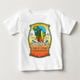 Longboard Creme de Coconut Baby T-shirt
