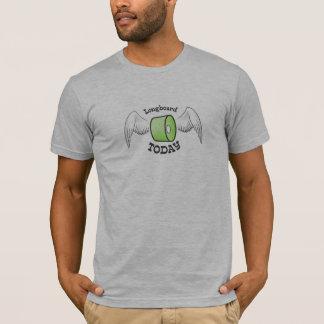 Longboard heute Schwungrad T-Shirt