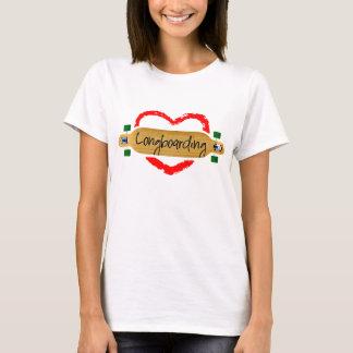 Longboarding Liebe T-Shirt