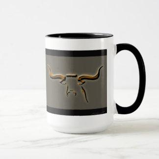 Longhorn-einfache Tasse