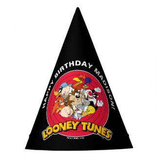 LOONEY Geburtstag der TUNES™ Charakter-Gruppen-| Partyhütchen