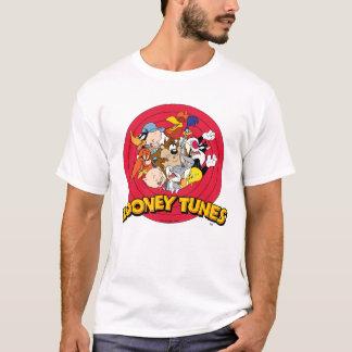 Looney Melodien-Charakter-Logo T-Shirt