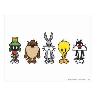Looney Melodien-Gruppen-Foto OP Postkarte