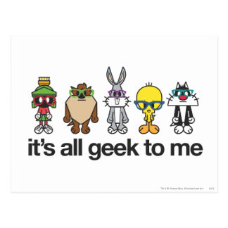 Looney Melodien-Nerds - aller Geek Postkarten