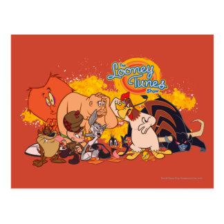Looney Melodien-Show-Form u. Logo Postkarten