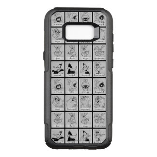 LOONEY TUNES™ Charakter-Gefühl-Diagramm OtterBox Commuter Samsung Galaxy S8+ Hülle