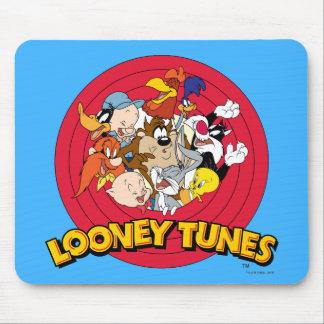 LOONEY TUNES™ Charakter-Logo Mousepad