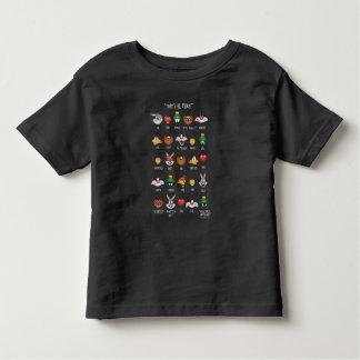 LOONEY TUNES™ Emoji Diagramm Kleinkind T-shirt