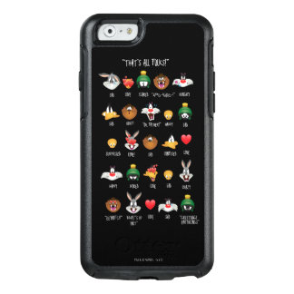 LOONEY TUNES™ Emoji Diagramm OtterBox iPhone 6/6s Hülle