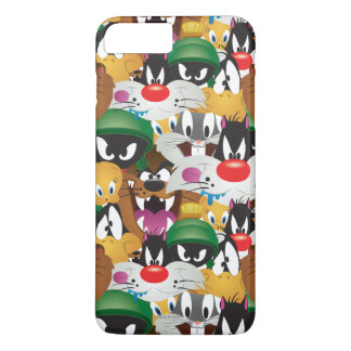 LOONEY TUNES™ Emoji Muster iPhone 8 Plus/7 Plus Hülle