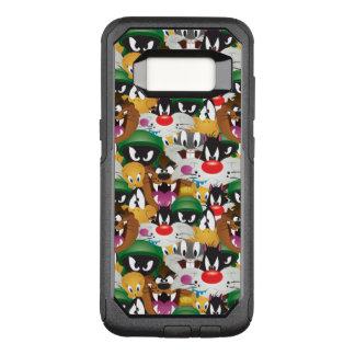 LOONEY TUNES™ Emoji Muster OtterBox Commuter Samsung Galaxy S8 Hülle