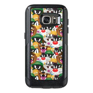 LOONEY TUNES™ Emoji Muster OtterBox Samsung Galaxy S7 Hülle