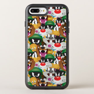 LOONEY TUNES™ Emoji Muster OtterBox Symmetry iPhone 8 Plus/7 Plus Hülle