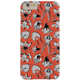 LOONEY TUNES™ Retro Halbtonmuster Barely There iPhone 6 Plus Hülle