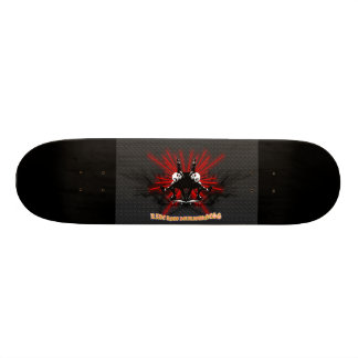 LooneySkullRUD: Uni-Schädel 18,1 Cm Old School Skateboard Deck