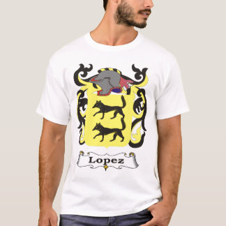 Lopez-Familien-Wappen T - Shirt