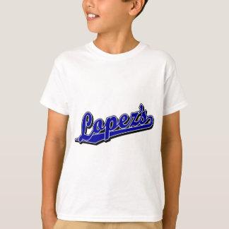 Lopez im Blau T-Shirt