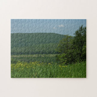 Lorbeer-Hochland-Pennsylvania-Sommer-Fotografie Puzzle