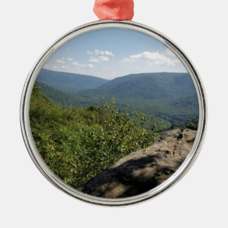 Lorbeer-Hochländer Pennsylvania Silbernes Ornament