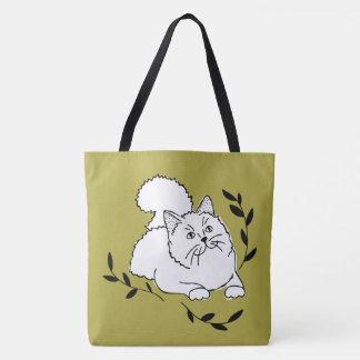 Lorbeer-Katzen-Taschen-Tasche Tasche