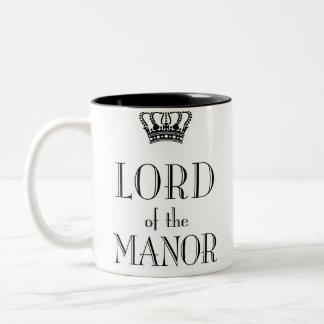 Lord der Manor-Tasse Zweifarbige Tasse