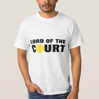 Lord des Tennis-T - Shirtzitats des Gerichtes   T-Shirt