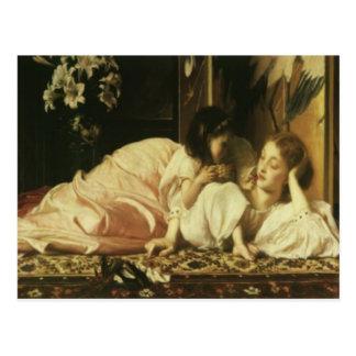 Lord Frederic Leighton Mother u. der Tag der Postkarte