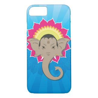 Lord Ganesha Digital Illustration mit iPhone 8/7 Hülle