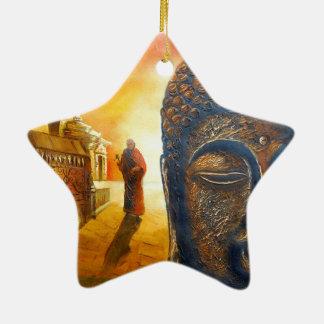 Lord Gautama Buddha Keramik Ornament