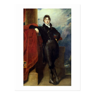 Lord Granville Leveson-Gower, später 1. Graf Granv Postkarte