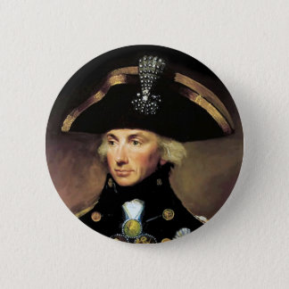 Lord Horatio Nelson Runder Button 5,7 Cm