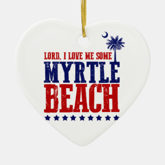 Lord, i-Liebe ich irgendein Myrtle Beach Keramik Ornament