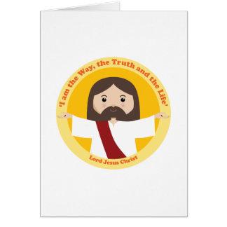 Lord Jesus Christus Grußkarte